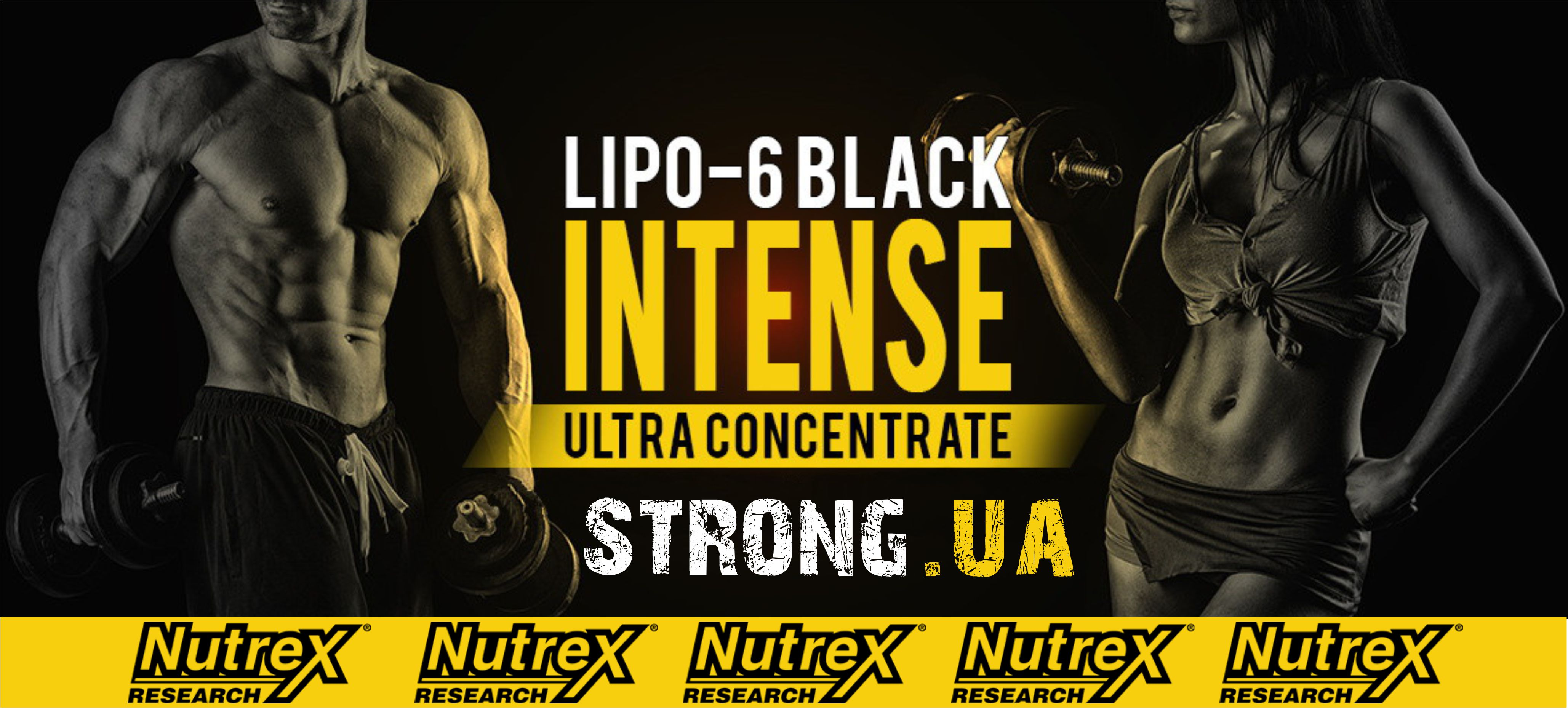 Lipo 6 black INTENSE Ultra Concentrate, 60 caps