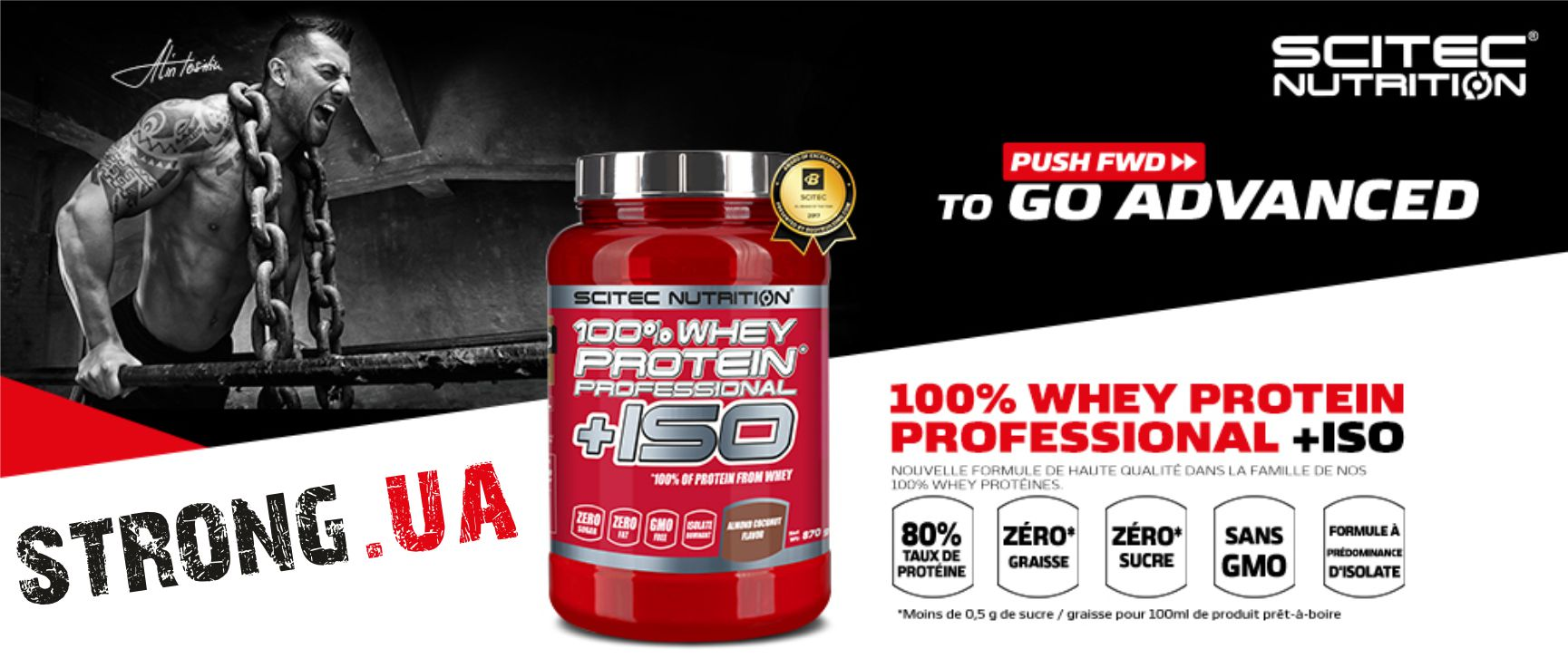 100% Whey Protein Professional +ISO, 870 g